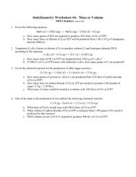 Charles Worksheet Answer Key Gas Laws Worksheet Answer Key