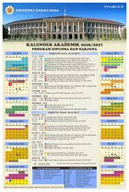 Palawa Ugm Kalender Akademik Direktorat Pendidikan Dan Pengajaran