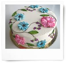 flower cakes fancy flower cake tizzerts nc
