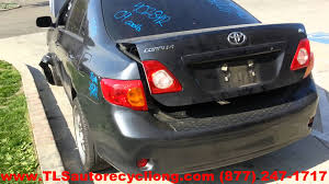 parting out 2009 toyota corolla stock 4028pr tls auto recycling