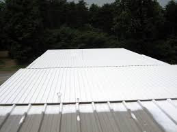 Sta Kool Elastomeric Roof Coating by Elastomeric Roof U0026 Silicone Application By Roof Coating Spreader
