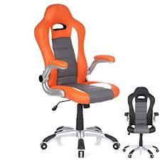 designer chefsessel designer chefsessel bürostuhl drehstuhl racing monza orange grau
