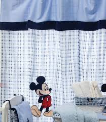 Nursery Curtains Uk by Baby Bedding Design Blue Mickey Mouse 2 Curtains Amazon Co Uk Baby