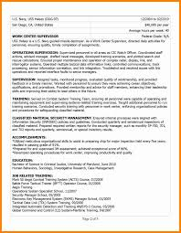 4 military resume examples for civilian new hope stream wood