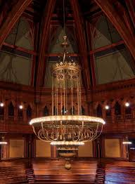 church chandeliers a grand chandelier at harvard u0027s sanders theatre harvard magazine