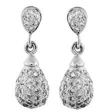 white gold dangle earrings white gold dangle earrings the beautiful dangle earrings in the