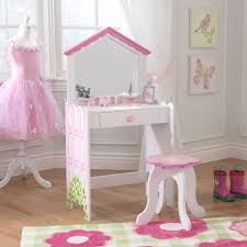 Girls Vanity Table And Stool Kids Bedroom Vanities Kidkraft
