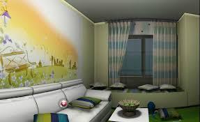 Wallpaper And Curtain Sets Lime Green Living Room Wallpaper Centerfieldbar Com