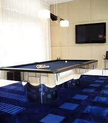 modern pool tables basement traditional with stainless steel