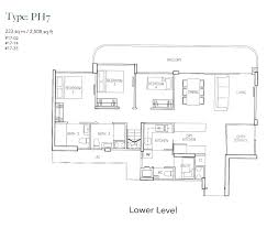 holland residences floor plan penthouse 4 bed parc vera bedroom type p1b floor plans loversiq