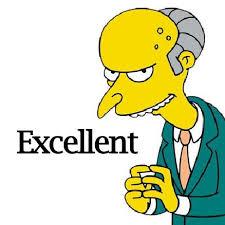 Mr Burns Excellent Meme - top ten tv villains thecelebritycafe com tv love pinterest
