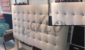 diy buttonless tufted headboard alo upholstery pictures how to