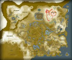Skyward Sword Map The Legend Of Zelda Breath Of The Wild Full Map Rpg Maps