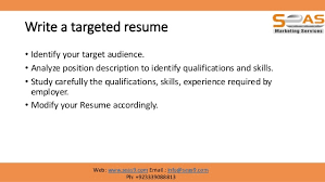 Modify Resume Cv Resume Writing Basics