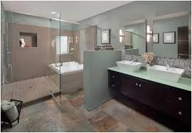 neutral bathroom ideas bathroom brown wooden frame mirror bathroom ceiling light mirror