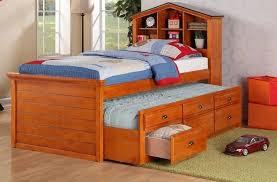 Country Style Headboards by Bedroom Country Style Wooden Single Kids Bed Design With Storage