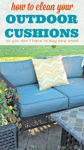 Outside Cushions Patio Furniture How To Easily Clean Outdoor Cushions Cleaning Outdoor Cushions
