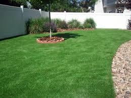 Backyard Artificial Grass by Fake Grass Los Berros California Landscape Rock Backyard Ideas