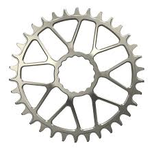titanium chain rings images Ti for cinch direct mount spiderless chainring jpg
