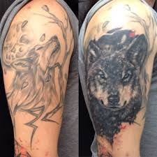 wolf cover up in progress portafolio andres valenzuela