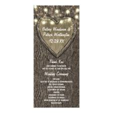 country wedding programs country wedding program rack cards zazzle