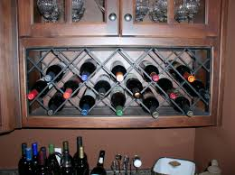 iron lattice wine rack 1 4 x 1 4 iron rods made to order