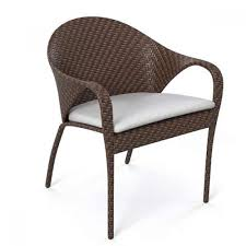 Artificial Wicker Patio Furniture - synthetic wicker dining chairs in good quality modern outdoor