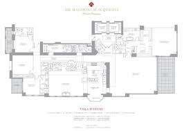 Mansion Floor Plans Mansions At Acqualina Sunny Isles Condo One Sotheby U0027s