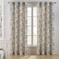 Kohls Window Blinds - keeco clare floral curtain multicolor floral curtains and products