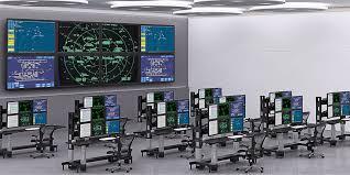 Control Room Desk Control Center Dispatch Console