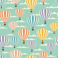 palloncini clipart modello retr羇 viaggio senza soluzione di continuit罌 di palloncini