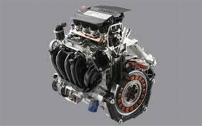 2006 honda civic motor 2006 honda civic hybrid ima engine and motor cutaway photo 299306