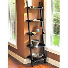 decorative wall shelves with shapes ladder shelf for corner