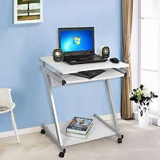 bureau couleur songmics bureau informatique table informatique meuble de bureau
