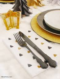 my black u0026 gold christmas party tablescape party ideas party