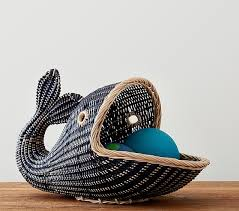 Pottery Barn Kits Whale Basket Pottery Barn Kids