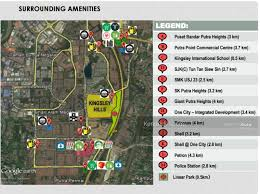 map usj 23 kingsley putra heights new 3 storey semi d kingsley