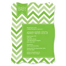 chevron green baby shower theme bigdotofhappiness