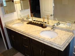 Granite Bathroom Vanity by Bathroom Bathroom Vanity Ideas With Colonial Cream Granite Vanity