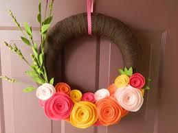 easy decorative wreaths for home ideas u2014 decor trends
