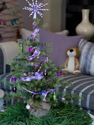 mini christmas tree ideas hgtv