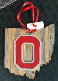 buckeye ornaments ohio state sports fans officially