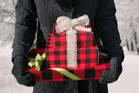 christmas plaid wrapping paper buffalo plaid rustic wrappings
