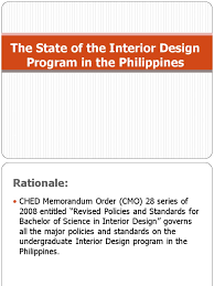 Undergraduate Interior Design Programs The State Of The Interior Design Program In The Philippines