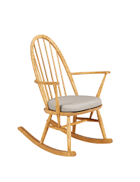 Rocking Chair Seat Pads Ercol Rocker Chair With Seat Pad M U0026s