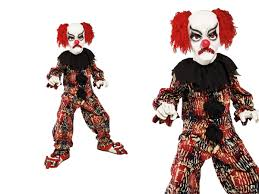scary clown costume kids halloween horror clowns fancy dress