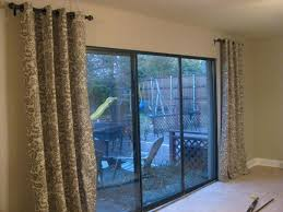 Curtains For Patio Door Sliding Door Curtains Sliding Glass Door Patio Door Curtains