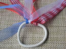 ribbon ponytail make ribbon embellished hair elastic bows chica and jo