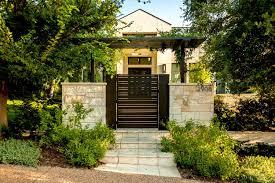 exterior design gorgeous garden design with wooden gates and