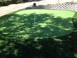 Small Backyard Putting Green Synthetic Turf North Salt Lake Utah Best Indoor Putting Green